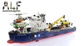 Lego Technic 42064 Ocean Explorer - Lego Speed Build Review
