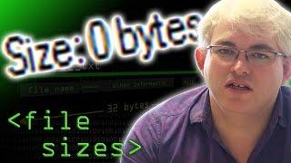 Zero Size Files - Computerphile