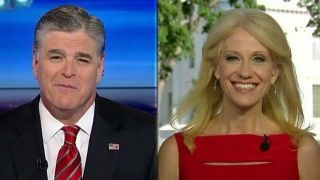 Conway pushes back against Clinton's claims about election