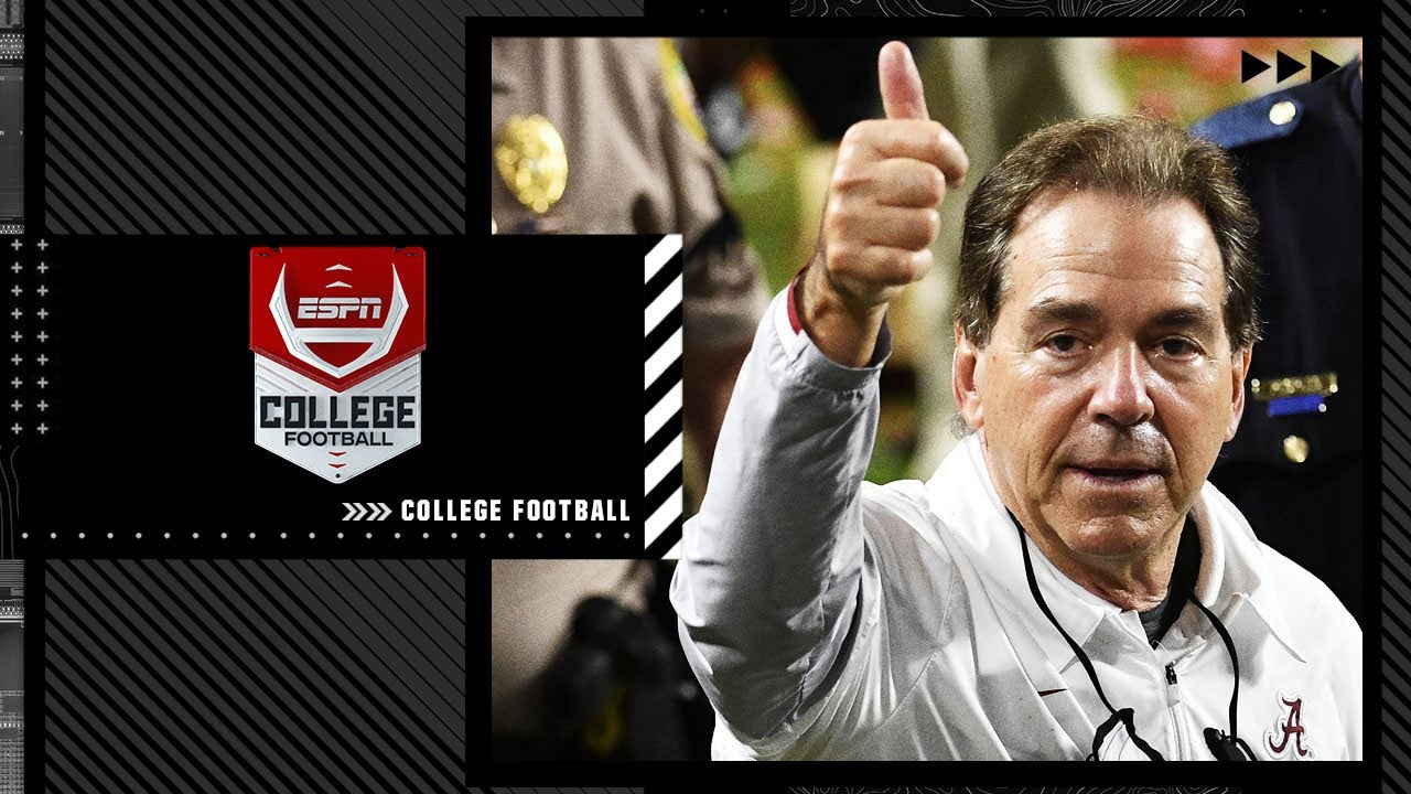Alabama tops ESPN's preseason power rankings, can they be stopped?