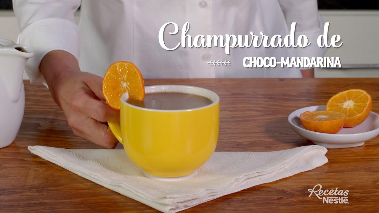 CHAMPURRADO DE CHOCOMANDARINA
