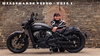 Monis Hildegard - Indian Scout Bobber - Blog Video Teil 1