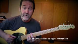Tim Lerch - Improvising Solo Guitar - Lesson