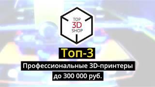Профессиональные 3D-принтеры до 300 000 руб. Топ-3. Обзор лучших решений на рынке