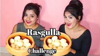 RASGULLA Eating Challenge    Bengali Rosogolla Competition    Food Challenge India
