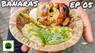 Banarasi Street Food with Veggiepaaji EP 05 | Bati Chokha making & more | Kashi ( Varanasi)