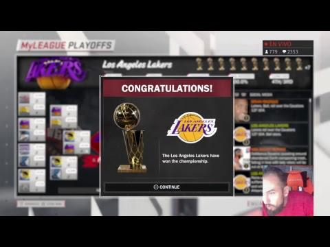 NBA 2K18 | WHAT IF | LAKERS , DONDE TODO EMPEZÓ