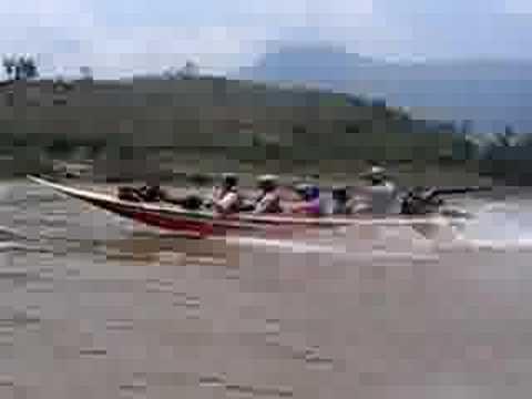 Laos Fast Boat
