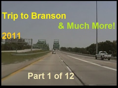 Trip to Branson and even more! | 2011 | 1 of 12 | Omaha to a Rest Stop on U.S. 136/169