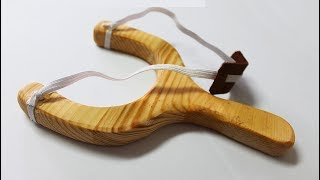 How to make a wooden slingshot - Scrap Wood Ideas