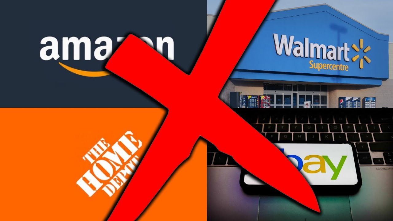 Don't Dropship from Amazon, Walmart, eBay, or Home Depot [Use These Sites Instead]