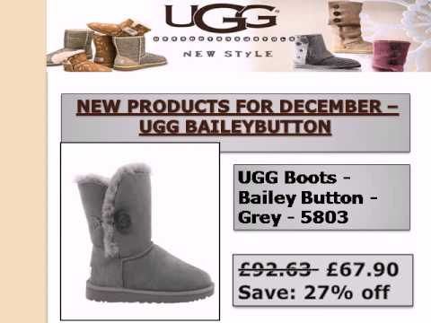 UGG Boot Collection- UGG Bailey Button, UGG Classic Tall, UGG Classic Short