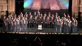 Cantico de Celebracion - Hwa Chong Choir - Cork Choral Festival 2012