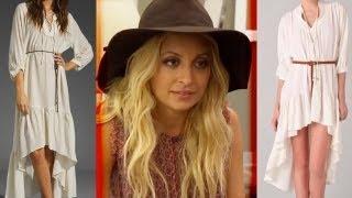 Nicole Richie Stealing Dress Designs?!