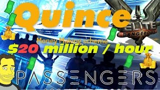 Elite Dangerous update: Quince Passenger mission make Millions !