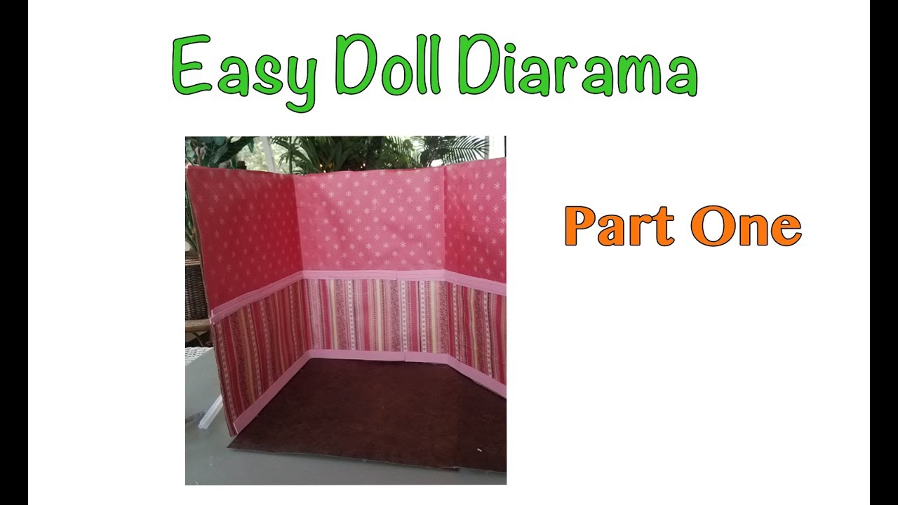 Easy Doll diorama - Part One