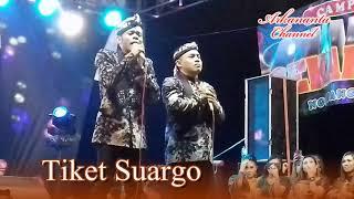 Tiket Suargo versi cak Percil - SYAHDU & LUCU