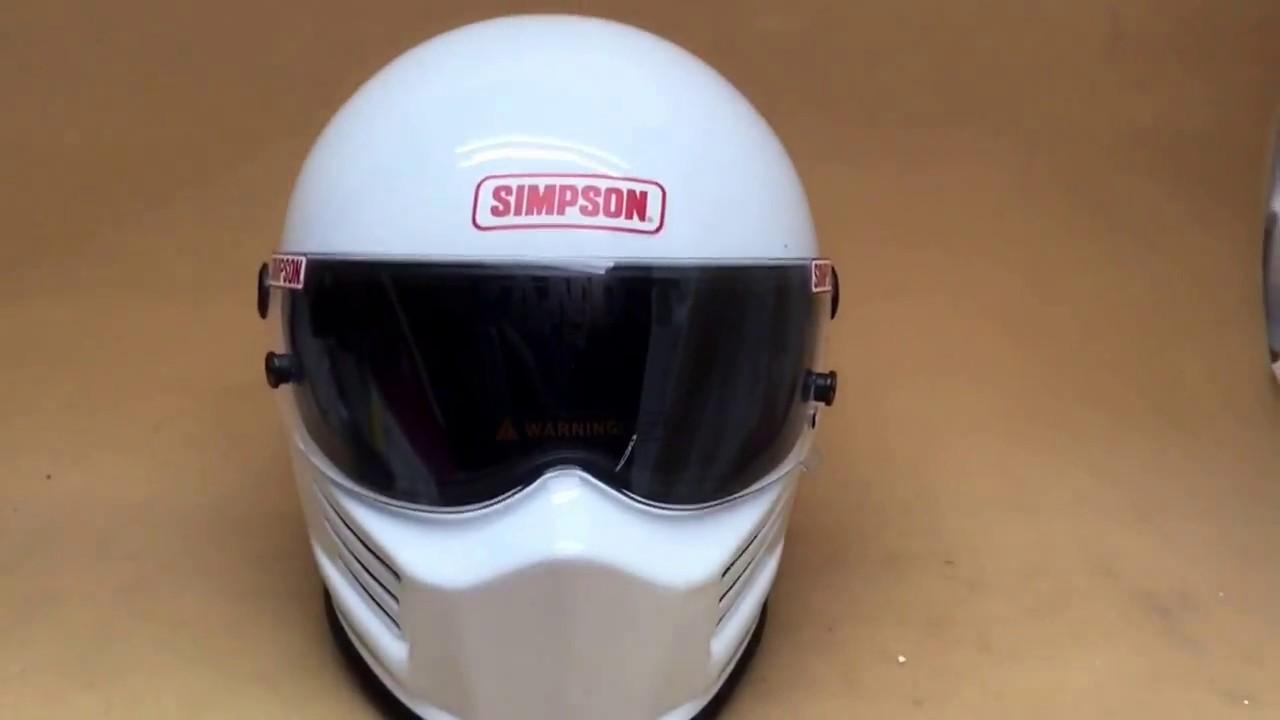 fad2cf0e Simpson Bandit crash helmet car racing bikers motorsport SA2015 simpson- helmets.eu 01773835666