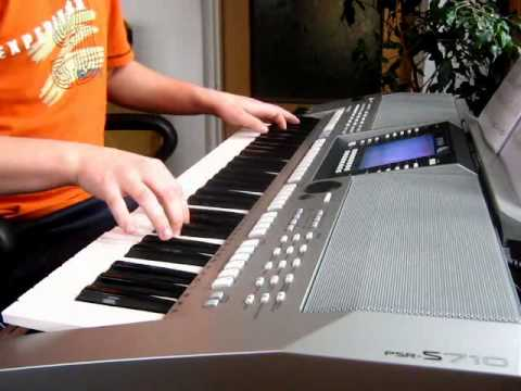 mika relax take it easy keyboard yamaha psr s710 by. Black Bedroom Furniture Sets. Home Design Ideas