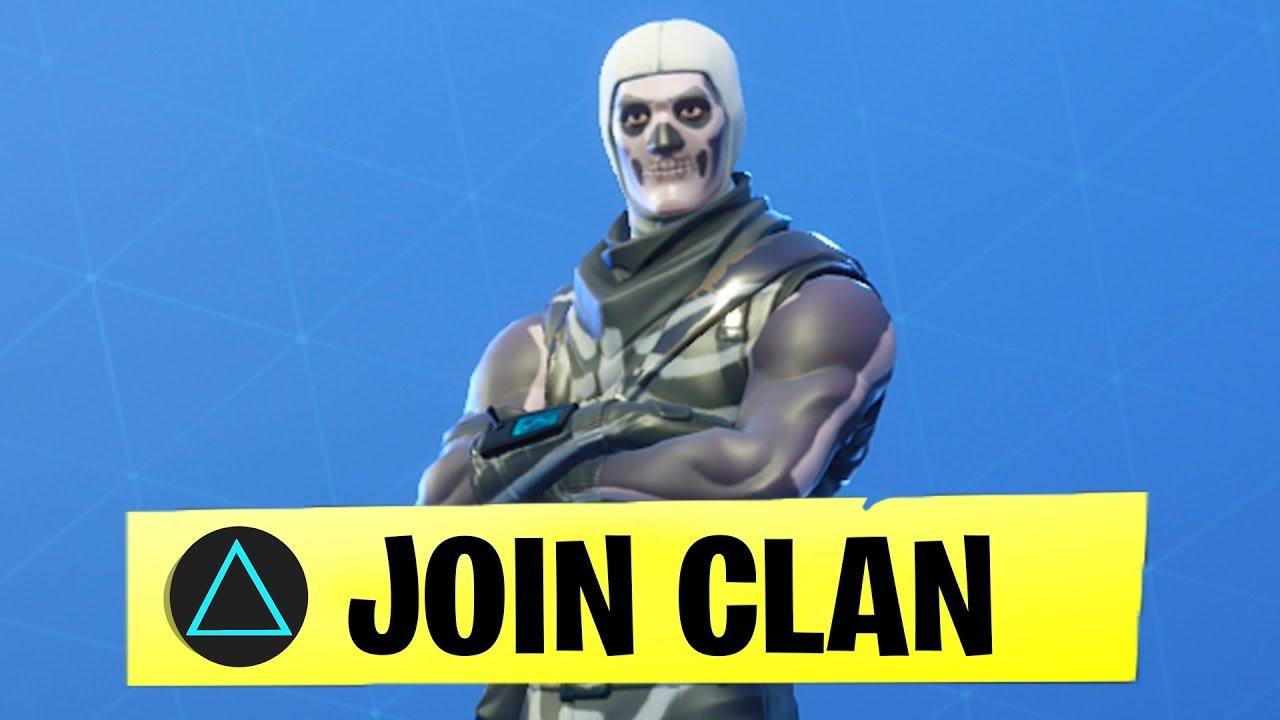 fortnite fortnitemobile - how to join a clan fortnite