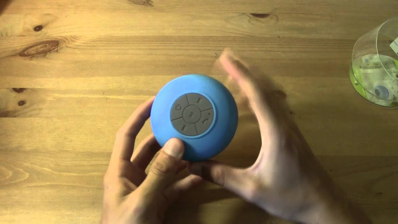 Bathroom waterproof bluetooth speaker youtube - Waterproof sound system for bathroom ...