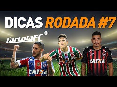 CARTOLA FC 2018 - DICAS RODADA #7 - TIME PONTUAÇÃO E TIME BOM E BARATO