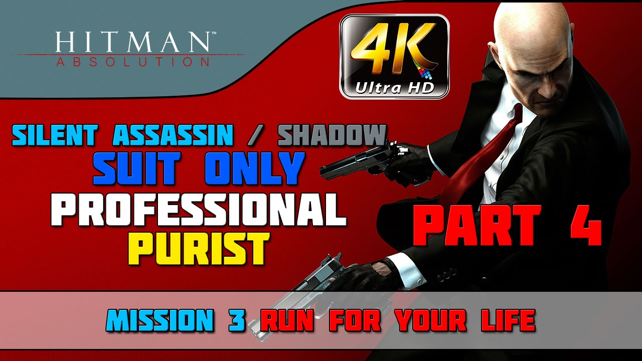 Hitman Absolution Walkthrough Professional Suit Only Evidence No Knockout Purist Mission 3 Youtube
