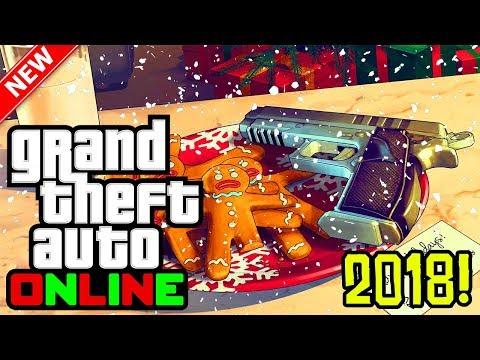 GTA 5 Online - 2018 Festive Surprise DLC! Release Date, Snow Details & More! (GTA 5 Online DLC)