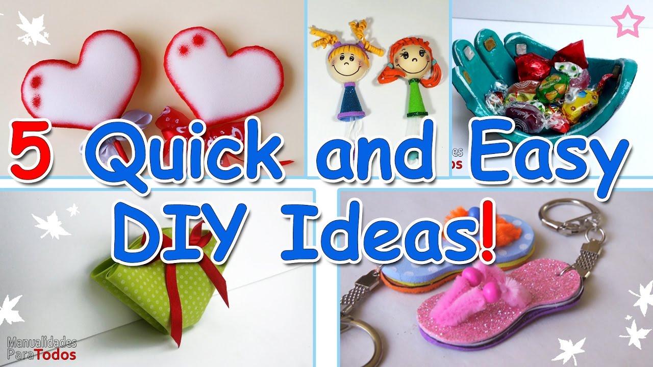 5 minute crafts 5