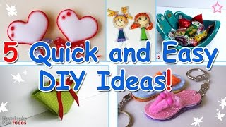 5 Minute Crafts - 5 Quick and Easy DIY Ideas! Ana | DIY Crafts