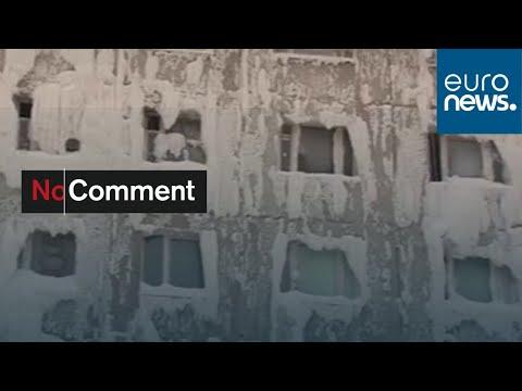شاهد: الجليد يغطي جدران عمارة من الداخل والخارج في مدينة إيركوتسك الروسية…  - نشر قبل 2 ساعة