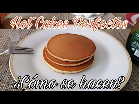 Cmo hacer Hot Cakes Perfectos, Redondos, Suaves y Esponjados | IzAntront