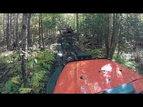 Stonewall Trail Saturday day 2 from the 2018 Maine Mountains Jeep Jamboree USA
