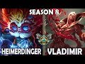 Best Heimerdinger Korea vs Vladimir ⭐ Ranked Master *Patch 8.20*