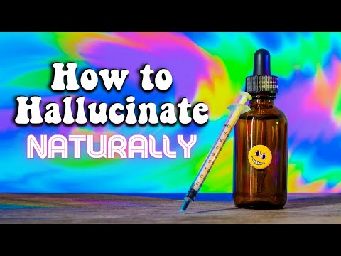 How to Hallucinate Naturally! (Closed Eye Visuals) - YouTube