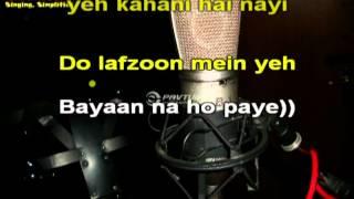 Teri Meri Karaoke(Sample)