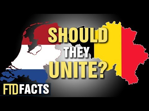 What if THE NETHERLANDS & BELGIUM Became One Country?
