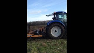 New holland t7.210 McConnel discaerator 3000 for arable to forestry reversion-PJ Agri Services