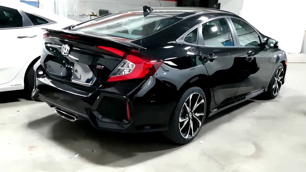 2017 Honda Civic Si 4 Door - YouTube