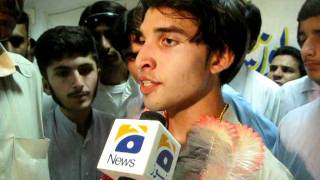 Waqar khan the toper of  mardan board.avi