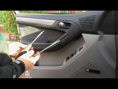 Remove Front Door Panel Toyota 4runner 2003 2009 Youtube