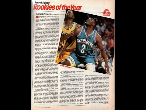 Draft 1991 - Larry Johnson, N° 1 (Hornets)