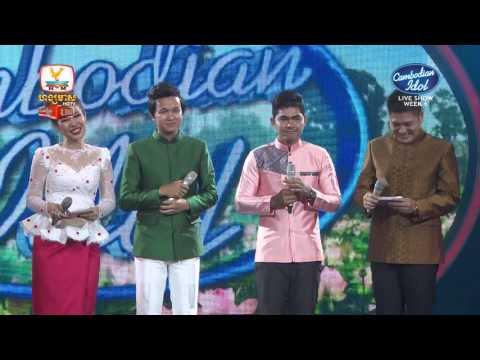 Cambodian Idol | Live show | Week 06 |  អ៊ាម វន្នី - មាស មុន្នីរាជ | ធីលម៉ូង