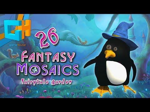Fantasy Mosaics 26 - Fairytale Garden
