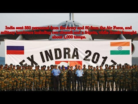 "Indian Media : India-Russia Joint Military Exercises ""INDRA"" - 2017 (Only for Indians)"