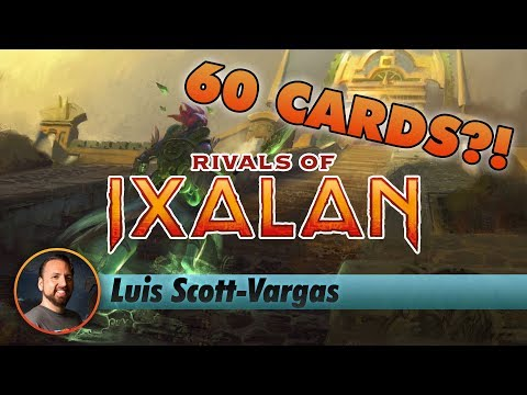 LSV Plays a SIXTY-CARD DECK in a Rivals of Ixalan Draft