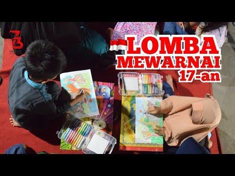 LOMBA MEWARNAI HEWAN 🇮🇩 Damar-Diandra Memeriahkan Hari Kemerdekaan Republik Indonesia #RI73