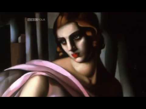 Tamara de Lempicka, Worldly Deco Diva, underrated master of the roaring twenties.