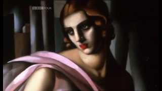 Tamara de Lempicka, Worldly Deco Diva, underrated master of the roaring twenties.
