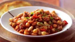 Heirloom Recipe Three-bean Casserole